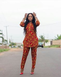 Trending Ankara styles are the lovely styles you see all around, they are elegant, lovely and beautiful. Some of it may be tagged simple, some casuals, and