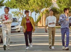 Kai, Baekhyun, D.O, Sehun - 190911 Fourth official photobook 'PRESENT ; the moment' Baekhyun, Exo Chanbaek, Kris Wu, Exo Korean, Xiu Min, Kpop Exo, Exo Members, Celebrity Couples, My King