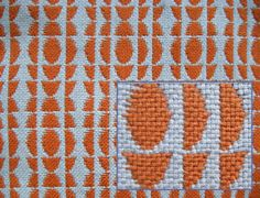 Patterned Double Weave Sample 1