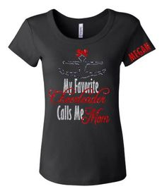 Show support for your favorite cheerleader with this cute shirt. The words are in your choice of glitter colors with a cheerleader doing a toe touch on top wearing a matching bow. Add your cheerleader