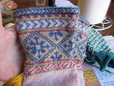 Ravelry: soxnsox's Nina's Birthing Socks