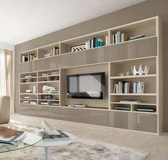 Buy Teramo Wall Unit for Sale at Deko Exotic Home Accents. Teramo bookcase wall unit with clean lines exemplifies exceptional Italian design where form meets functionality.