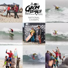 These groms are the future of surfing! Brisa Hennessy, Pat Curren, Kaulana Apo, and Eithan Osborne are the 2013 Rip Curl GromSearch National Champions!