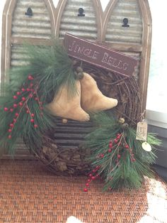 Christmas Wreaths, Christmas Decorations, Christmas Ornaments, Holiday Decor, Little River, Rooster, Dolls, Create, Baby Dolls