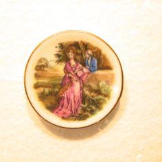 PBT-DISH - Miniature Porcelain Plate