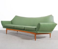 Mid Century Retro Vintage Johannes Andersen Teak Sofa Couch Lounge 3 Seater 1960s Retro Vintage | Repinned by 360 Modern Furniture