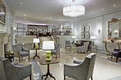 Habitus Brasil te convida a conhecer o London Marriott Hotel Park Lane, sua decoração praticamente te convida a relaxar e se preparar para o chá das cinco.