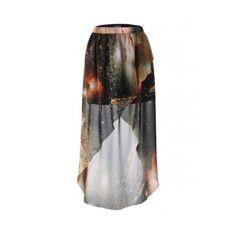 Mysterious Universe Tulip Skirt