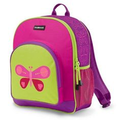 Pink Birds Back to School Backpack via @soyoung #preschool ...