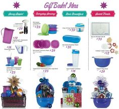 Little gift ideas for that favorite teacher, Co worker, or family or that best friend.  Www.my.Tupperware.com/sarahes