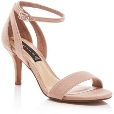 Steven By Steve Madden Valor Suede Dress High Heel Sandals - Compare... (53 AUD) ❤ liked on Polyvore featuring shoes, sandals, blush, heeled sandals, steven by steve madden, suede sandals, steven by steve madden shoes and steven by steve madden sandals
