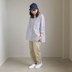 YAECA - Chino Cloth Pants - piped stem #beige 「着楽(チャクラ/ciacura)」 三重県四日市市で洋服と器を販売