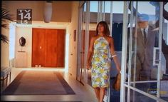 "Mad Men, season 2, episode 11: ""Jet Set"". Amazing mid-century home.  Watch behind the episode here: http://www.amctv.com/mad-men/videos/inside-mad-men-the-jet-set"