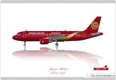Juneyao Airlines 吉祥航空公司 / Airbus A320 / Livery concept