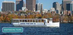 Charles Riverboat tour