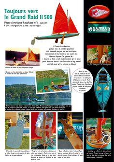 Chronique Kayak Historic Grand Raid II
