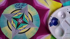 Mandala - acrylic painting (2) - Mandala - farby akrylowe (2)