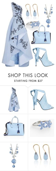 """""""Fashion"""" by jasmina-ishak ❤ liked on Polyvore featuring Monique Lhuillier, Kendall + Kylie, MCM, Talbots, 1928 and Love Is"""