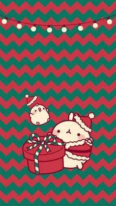 Re special, so perfect] Winter Wallpaper, Cute Wallpaper For Phone, Kawaii Wallpaper, Christmas Wallpaper, Cute Wallpapers, Wallpaper Backgrounds, Iphone Wallpaper, Cute Kawaii Drawings, Cute Animal Drawings