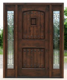 Best Of Wood Entry Door with Sidelights