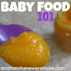 Baby Food 101 :: First Foods by Age {Printable Chart}