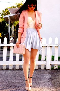 Another great way to mix pastels for Spring! :)