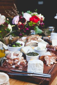 .Why not have a grazing table instead of canopies for reception drinks ?
