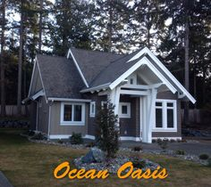 Beautiful Upscale Cottage for Family Fun or a Quiet Get AwayVacation Rental in Qualicum Beach from Fire Pit Bbq, Vancouver Island, Home And Away, Swimming Pools, Shed, Cottage, Outdoor Structures, Patio, Vacation
