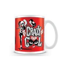 Caneca Arlequina Crazy Cool