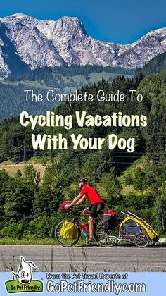 Tips on bicycle touring with your dog.