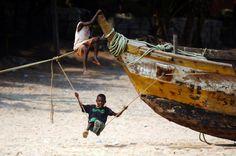 Swinging on Cape Coast, Ghana Accra, West Africa, Ghana, Coast, Photography, Photograph, Fotografie, Photoshoot, Fotografia