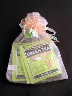Tea favors coz I love tea :)