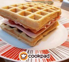 Βαφλο-σάντουιτς, για #πρωινό, #brunch ή για #βραδινό #σνακ. #συνταγές #recipes #waffle #snack Waffles, Brunch, Breakfast, Party, Foods, Breakfast Cafe, Food Food, Fiesta Party, Food Items
