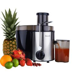 VonShef Professional Powerful Wide Mouth Whole Fruit Juicer Machine Max Power Motor with Juice Jug and Cleaning Brush Small Kitchen Appliances, Kitchen Gadgets, Cool Kitchens, Baking Gadgets, Kitchen Hacks, Fruit Juicer, Citrus Juicer, Centrifugal Juicer, Juicer Reviews