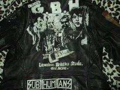 Punk Jackets, Punk Art, Leather