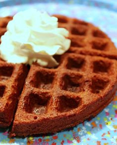 Did you know that you can make brownies in your waffle maker? Just whip up your usual brownie batter and pour it in your waffle maker. Brownie Mix Waffles, Protein Waffles, Chocolate Waffles, Sloppy Joe Recipe With Manwich, Sloppy Joe Recipe Crock Pot, Waffle Recipes, My Recipes, Pasta Recipes, Recipies