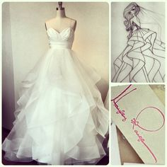 New Arrival: Londyn gown by Hayley Paige!  I can't wait to walk down the aisle!!!