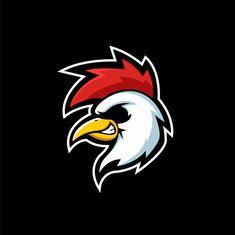 Brand Identity Design, Logo Design, Branding Design, Cartoon Rooster, Rooster Logo, Cool Symbols, Chicken Illustration, Chicken Logo, Design Kaos
