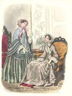 Het Toilet  Tijdschrift voor vrouwelijke handwerken. bewerkt door het Bureau du Follet, te Parijs  November 1852 (1775)  Anaïs Toudouze
