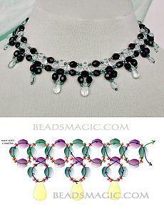 "Винтажное ожерелье ""Erika"". Pearl Necklace Designs, Beading Patterns Free, Bracelets, Jewelry Design, Jewelry Making, Pearls, How To Make, Crafts, Videos"