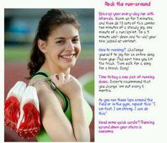 26/38 Girls Life Magazine, Run Around, Running, Sleep