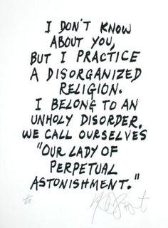 Kurt Vonnegut said...