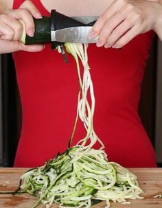 Skinny Bang Bang Zucchini Noodles | Kirbie's Cravings | A San Diego food & travel blog