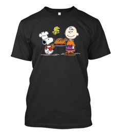 Charlie Brown And Snoopy Thanksgiving Snoopy - Charlie Brown And Snoopy Thanksgiving Snoopy - T-Shirt   TeeHag