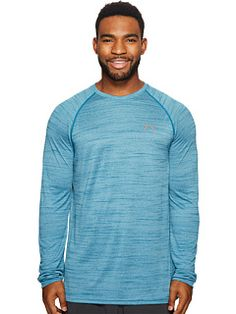 d7fcdd53cb1 Under Armour UA Tech™ Patterned Long Sleeve Tee from zappos.com.  #promoted#underarmour