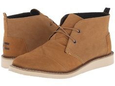 $119 TOMS Mateo Chukka Boot Desert Taupe Croc Embossed Leather - Zappos.com Free Shipping BOTH Ways