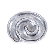 Ashtray for Indoor & Outdoor Use. Spiral Shape, Table Accessories, Aluminum Metal, Drink Coasters, Tabletop, Sculptures, Creations, It Cast, Ornaments