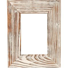 Remember that perfect day at the beach! Natural grain and a whitewash finish lend a naturally rustic appeal to your favourite photos when displayed in this wooden picture frame.