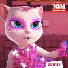 Will her friends be able to find her and bring her home? Get Season 1 Talking Tom and Friends episodes: htt. Friends Episodes, Friends Season, Game Character, Character Design, Happy Birthday Tom, Paw Patrol Decorations, Tom Love, My Little Pony Twilight, Big Hero 6