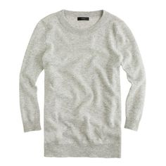 J Crew Collection cashmere Tippi sweater in Heather Dusk.